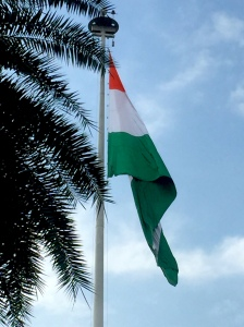 Blog I Love My India Flag Fluttering IMG_3425